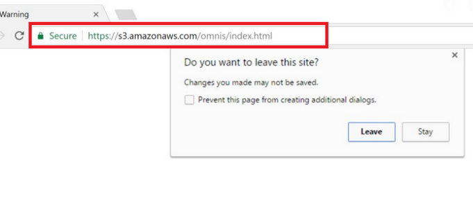 Amazonaws Redirect Virus