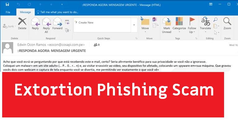 Coloquei malware no site adulto email