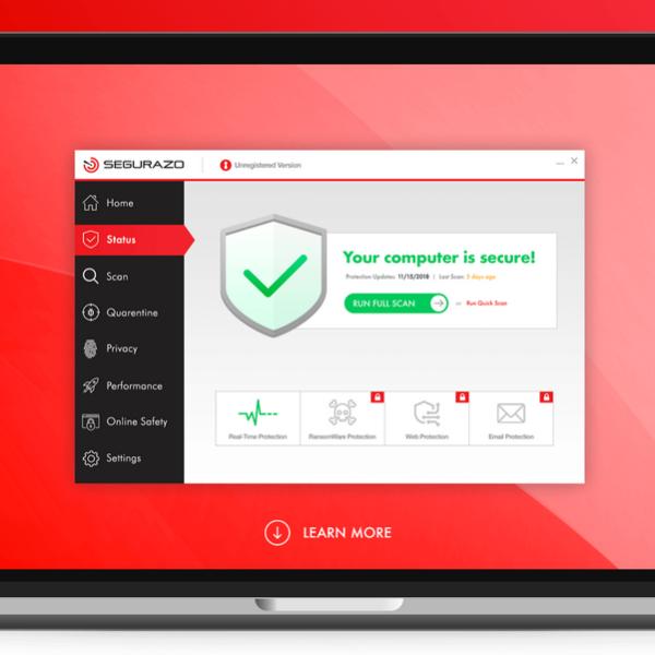 How to remove Segurazo Antivirus