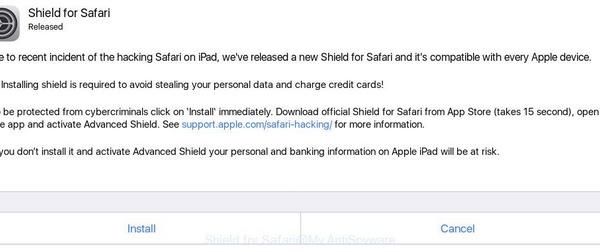 Remove Shield for Safari