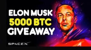 Elon Musk giveaway scam