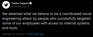 Twitter's statement