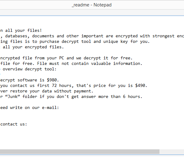 Nile ransomware removal