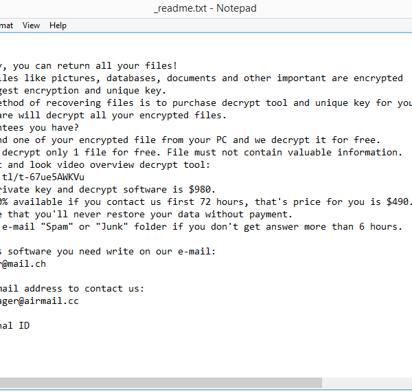 Npph ransomware removal