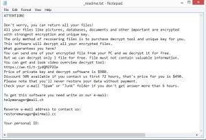 Lisp ransom note