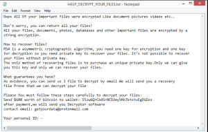 Sext ransomware