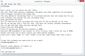 Sglh ransomware note