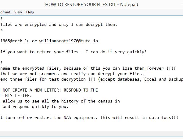 Jfwztiwpmqq ransomware removal